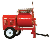 MultiQuip Plaster/Mortar WM90SE Steel Drum Mixer 9cf, Electric 230V 1 Phase