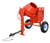 MultiQuip Steel-Drum Concrete MC44SH Mixer 4cf, Honda GX120
