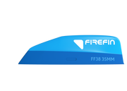 Firefin FF38 / 35MM, tool less fin 2-Pack_side_blue