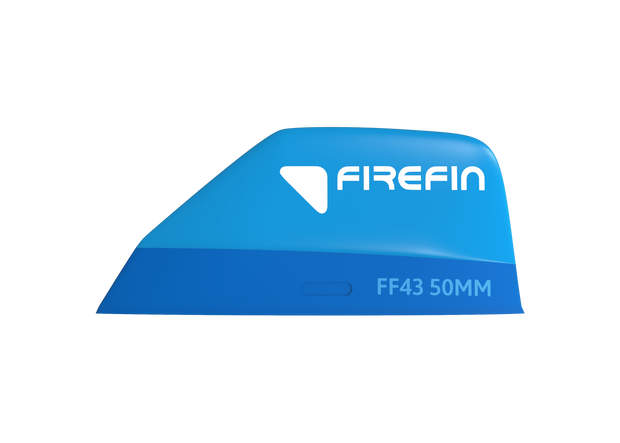 Firefin FF43 / 50MM, tool less fin 2-Pack_side_blue