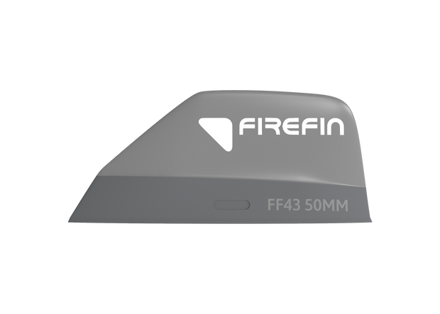 Firefin FF43 / 50MM, tool less fin 2-Pack_side_grey