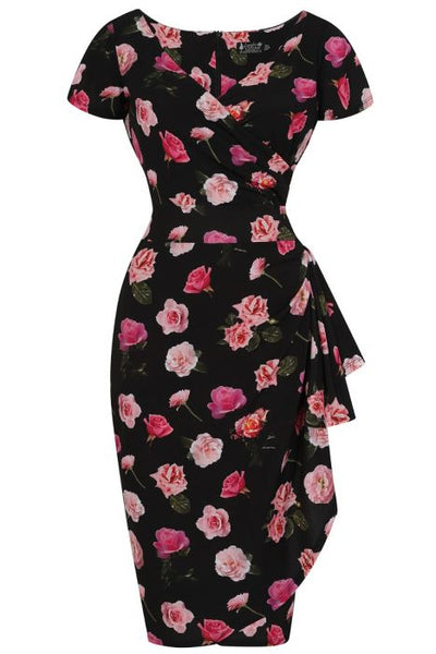 Elsie Dress - Pretty In Pink Roses
