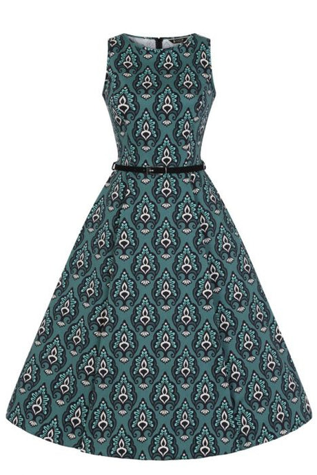 New // LADY VINTAGE 'Hepburn - Imperial Deco' Dress // Size 16