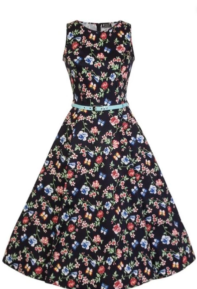 Lady Vintage Hepburn Secret Garden