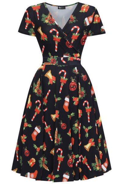 Lady Vintage Christmas dress NZ