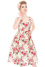 Load image into Gallery viewer, New // LADY VINTAGE 'Iris - Dainty Roses' Dress // Size 16