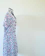Vintage // Sweet Button-Down Sundress // Best Suited To Sizes 12-14