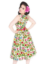Load image into Gallery viewer, New // LADY VINTAGE 'Hepburn - Summer Floral' Dress // Size 20