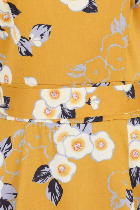 lady vintage charlotte yellow floral