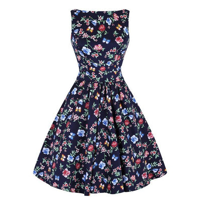 lady vintage secret garden tea dress