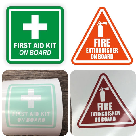 Emergency Notice Decals