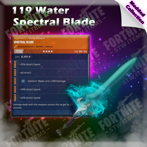 Modded 119 Water Spectral Blade