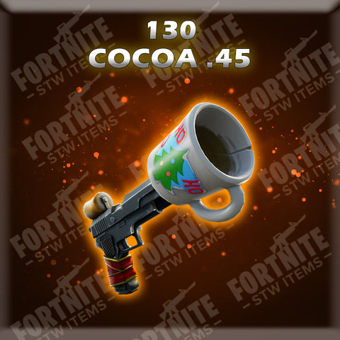 130 Cocoa.45 - Fire (God Roll)