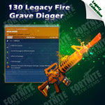 Legacy 130 Fire Grave Digger