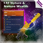Modded 130 Nature & Nature Wraith