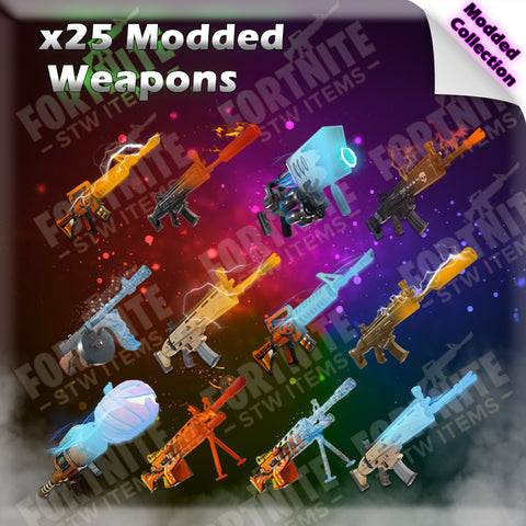 25 x Modded Weapons