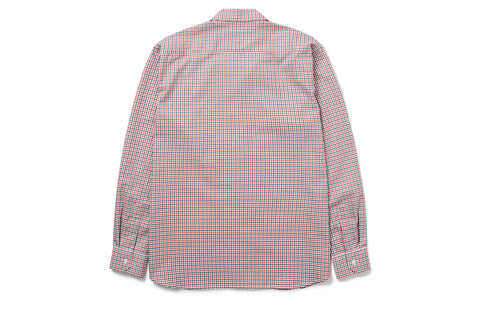 Camp-Collar Tattersall Shirt
