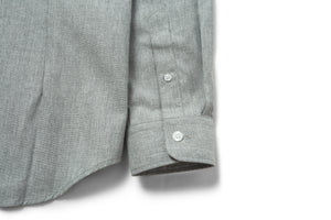 Jetted Oxford Light Grey Shirt