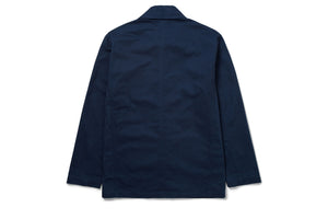Twill Navy Shacket