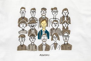 """Tranquil Monday"" Illustrated T-Shirt"