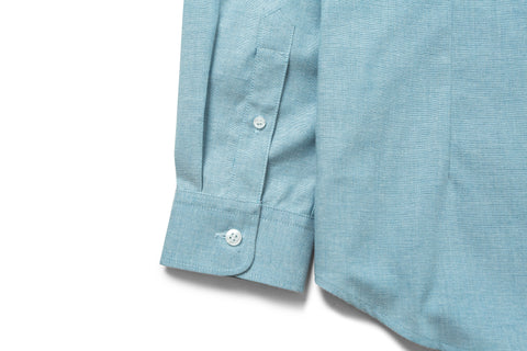 Jetted Oxford Light Blue Shirt