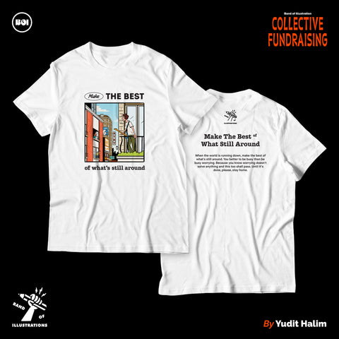 Band of Illustrations Collective Fundraising T-shirt
