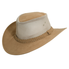 Dorfman Pacific Cooler Golf Hat - Tan