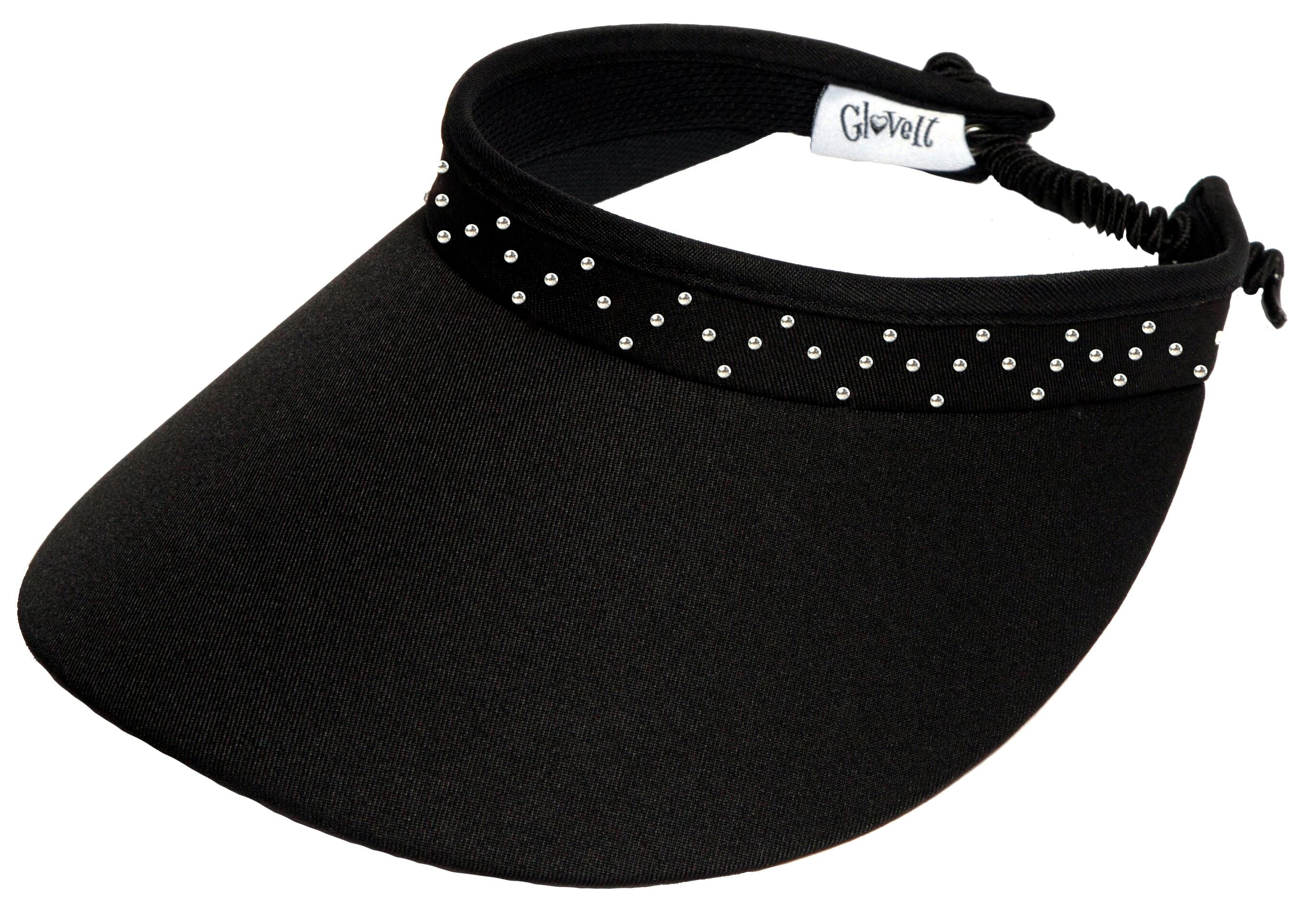 CRYSTAL BLING COIL Women's Golf Visor