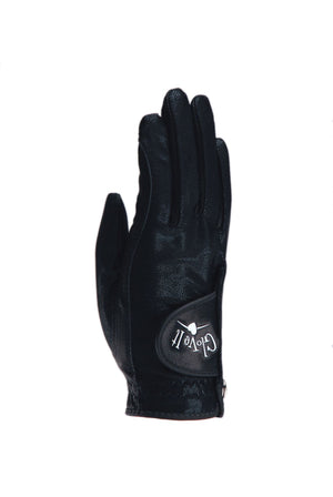 BLACK CLEAR DOT Women's Golf Glove
