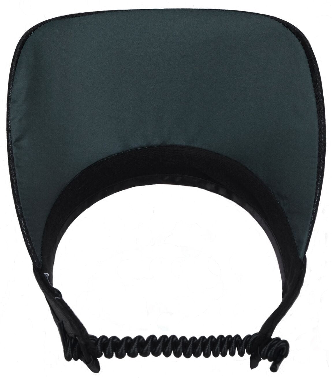 BLACK CLEAR DOT Women's Golf Visor