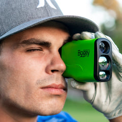 Bye Bye Bogey - Pro 600M Laser Golf Rangefinder with Jolt & Slope Technology