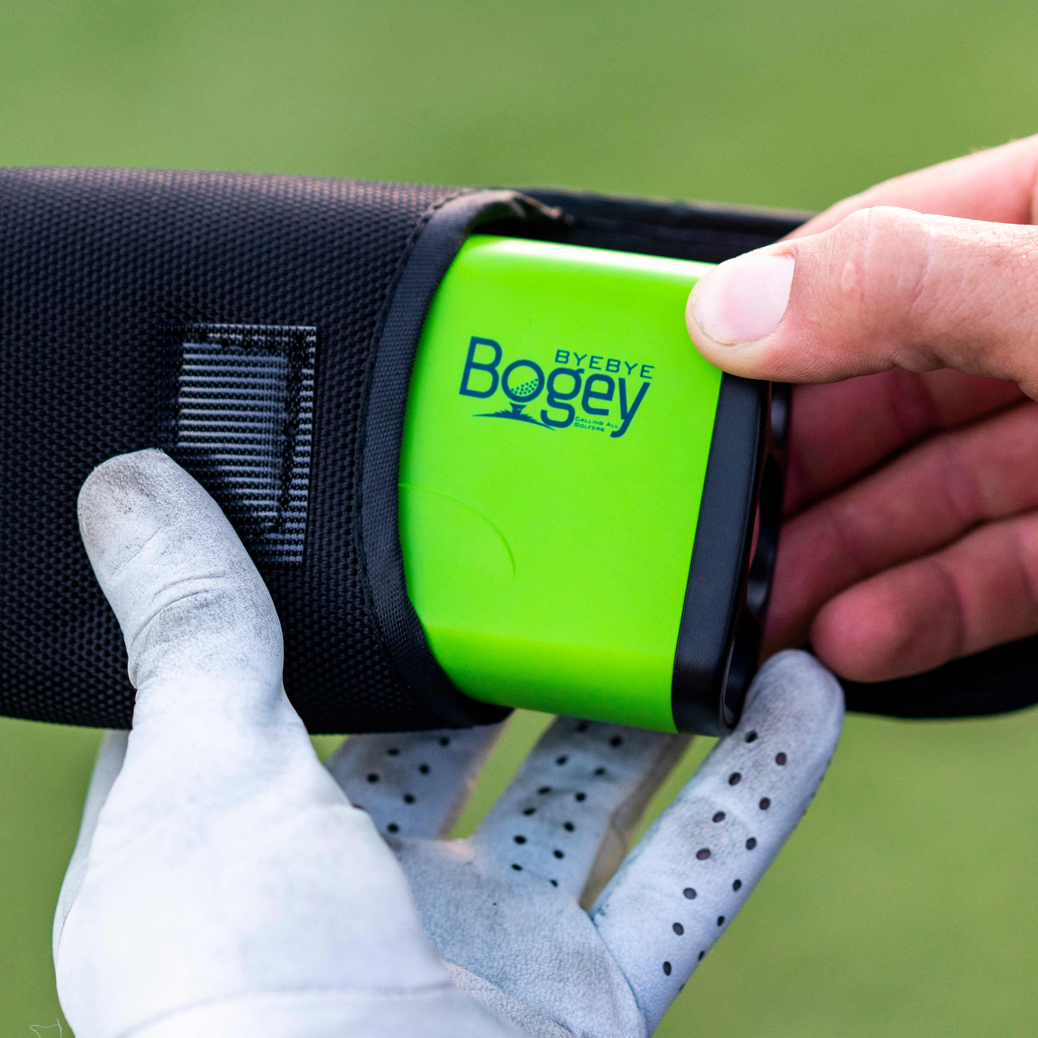 Bye Bye Bogey - Pro 600 Laser Golf Rangefinder with Jolt & Slope Technology
