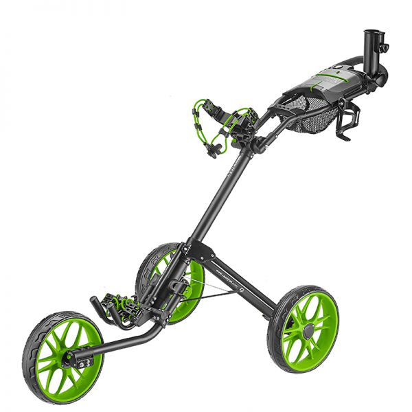 Green Golf Push Cart