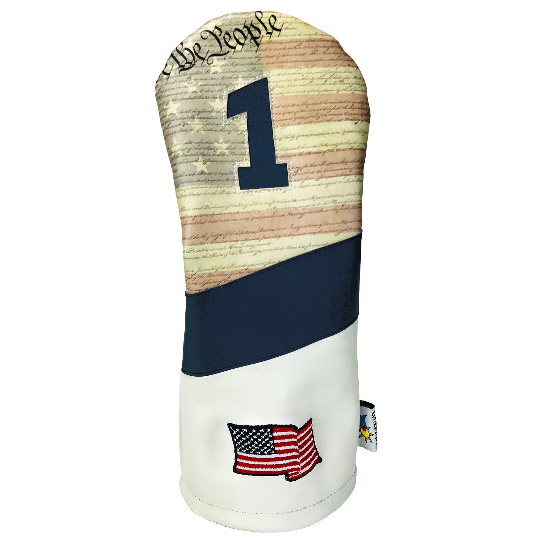 Sunfish - The Constitution – Driver Golf Headcover