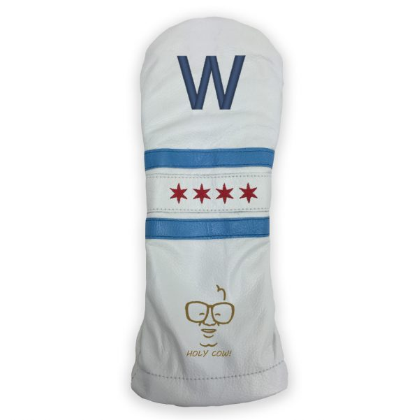 "Duraleather Fly the ""W"" Cubs Golf Headcover"