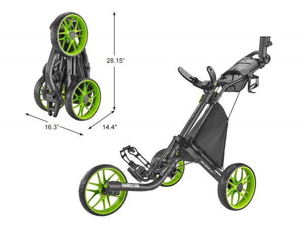 CaddyTek CaddyLite EZ Golf Push Cart