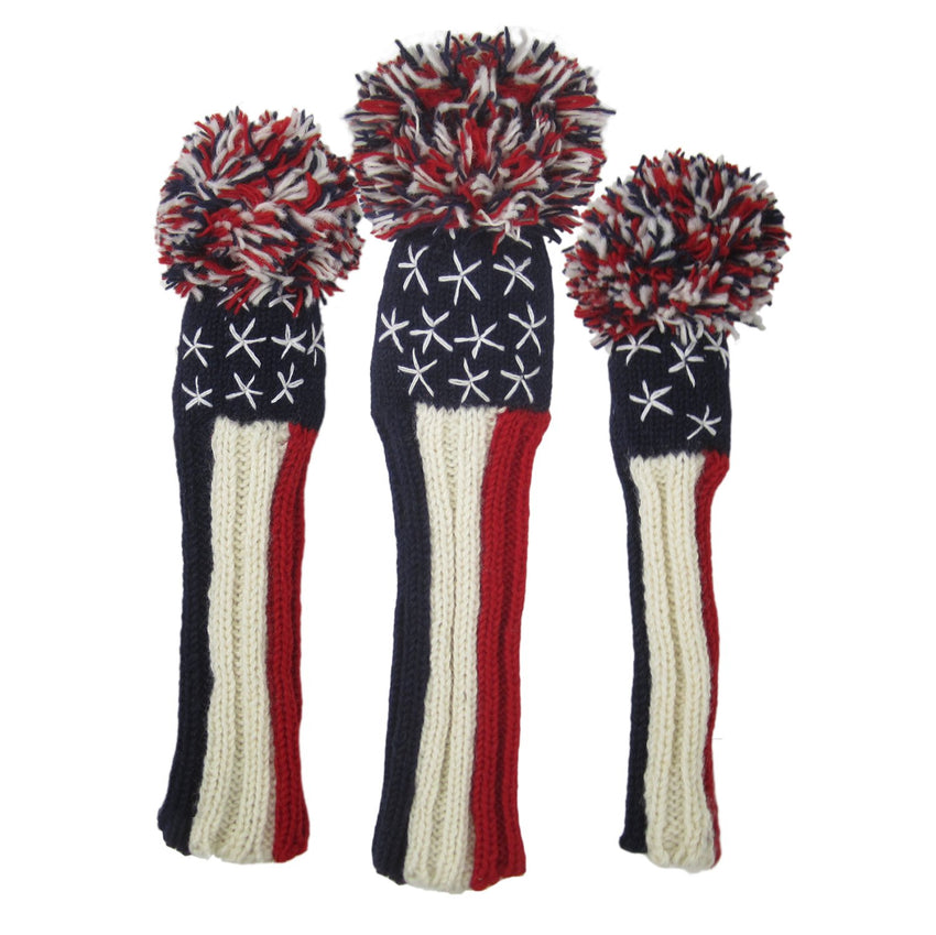 Sunfish Liberty Knit Headcover (Driver, Fairway, Hybrid, or Set)