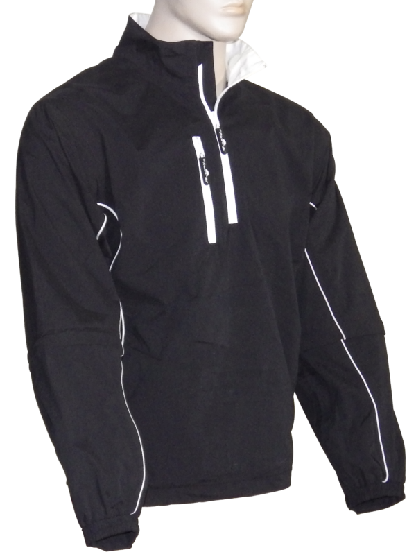 Men's Microfiber Pullover 1/4 zip Windshirt - The Weather Apparel Company