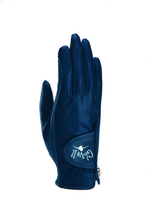 NAVY CLEAR DOT Women's Golf Glove