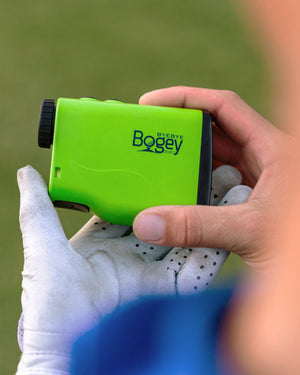 Golf Rangefinder with Slope Adjusting Technology