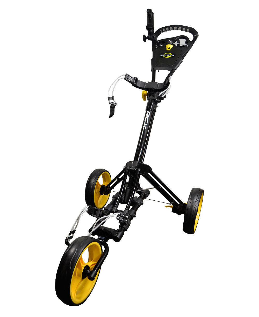 Ray Cook Golf RCX One Click Push Cart Black