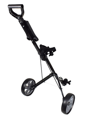 Ray Cook Golf RCX 2 Wheel Pull Cart Black