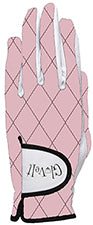ROSE GOLD QUILT Women's Golf Glove