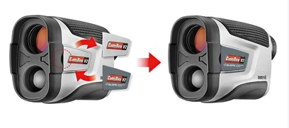 CaddyTek Golf Laser Rangefinder, CaddyView V2 +Slope and Vibrating function