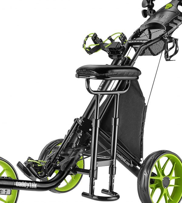 CaddyTek EZ Series REMOVABLE SEAT - Works on all CaddyLite EZ Series Golf Push Carts