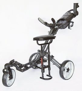 CaddyTek ONE Series REMOVABLE SEAT - Works on all CaddyCruiser ONE and CaddyLite ONE Series Golf Push Carts
