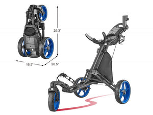Swivel Golf Push Cart