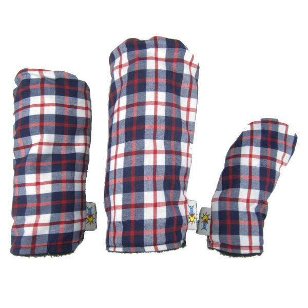 Tartan Golf Headcover Set