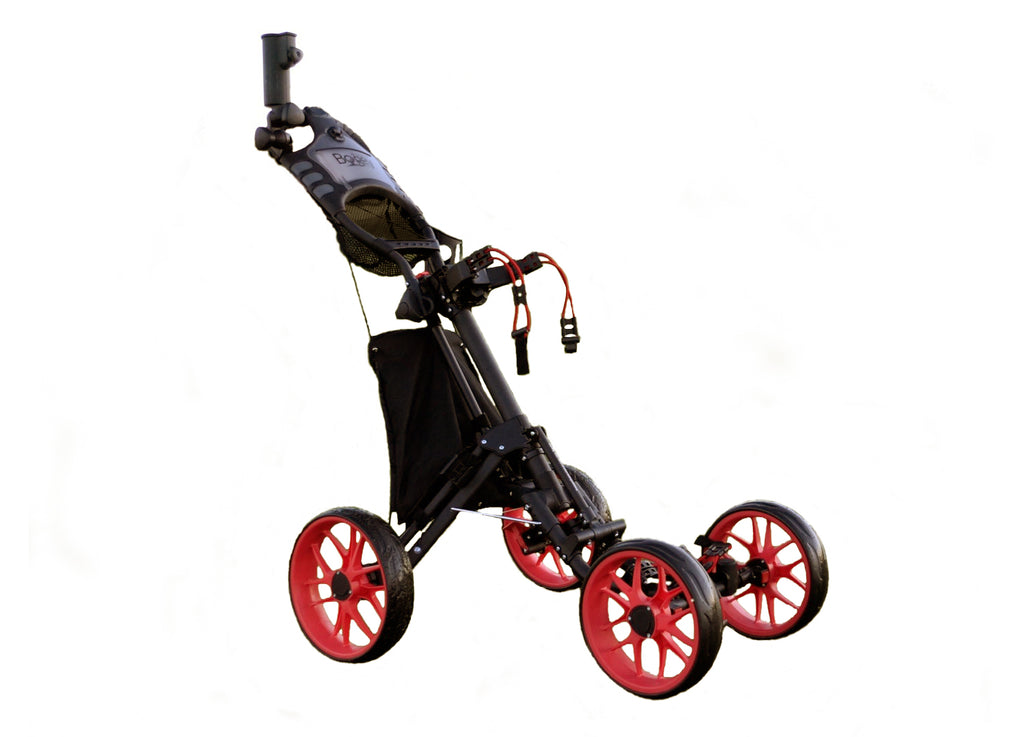Bye Bye Bogey - Glider V4 4-Wheel Golf Push Cart