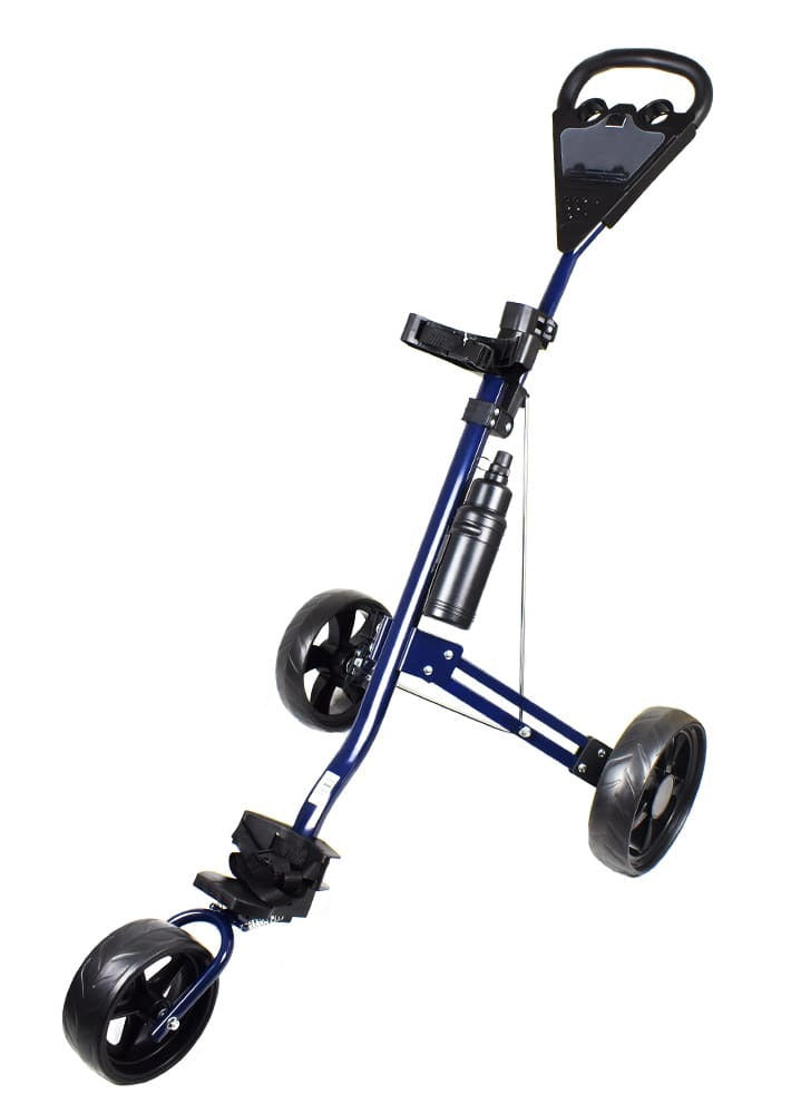 Trolli King Golf TC5A 3-Wheel Push Cart Blue